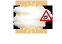 Nebel mit Reifbildung