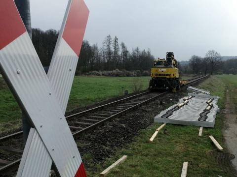 Güterverkehr startet am 3. Mai wieder auf der Holzbachtalbahnstrecke