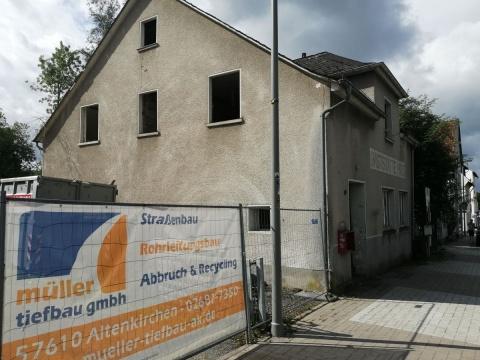 Altenkirchener Traditionsgaststätte Hirz wird abgerissen