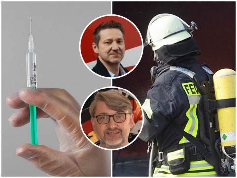Zu langsames Impfen: Ärger und Unverständnis bei Feuerwehren