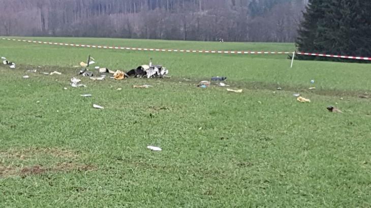 Flammersfeld Flugzeugabsturz Pilot Tot Ak Kurier De
