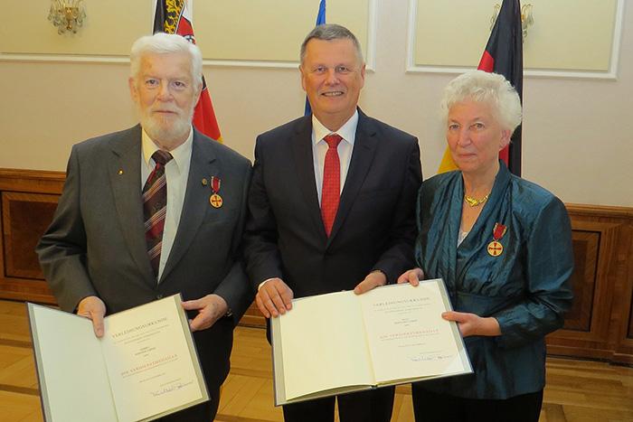 Irmgard und Werner Lerdo aus Erpel erhalten Bundesverdienstorden