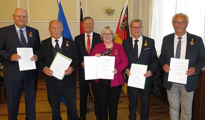 Ehrenamtliches Engagement in der SGD Nord gewürdigt