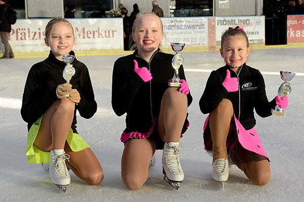 Neuwieder im Eissport bei Landesmeisterschaften erfolgreich