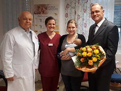 DRK-Klinik Kirchen/Sieg meldet 1000. Geburt