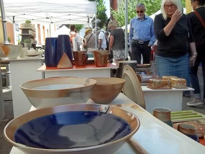 Europäischer Keramikmarkt in Höhr-Grenzhausen