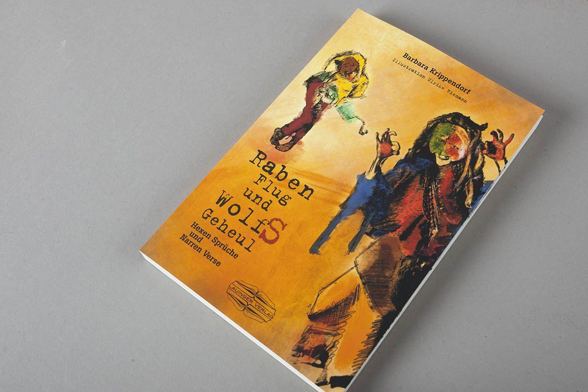 """Buchtipp: """"RabenFlug und WolfSGeheul"""" von Barbara Krippendorf"""