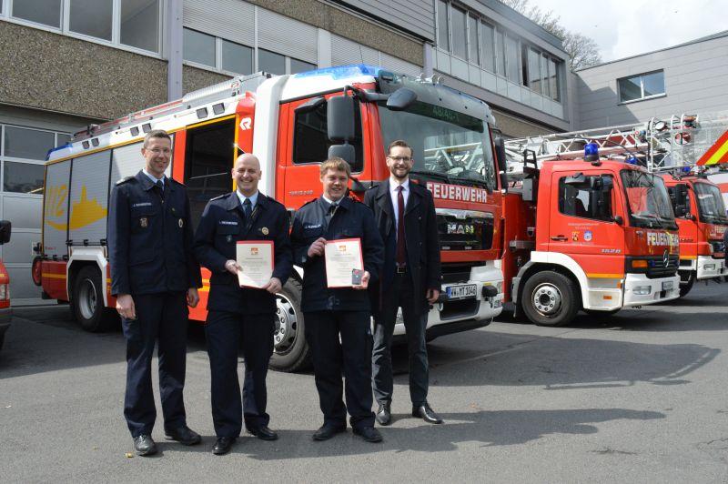 Zuwachs in der Familie der Verbandsgemeinde-Feuerwehr