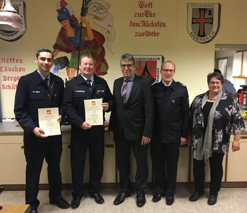 Wehrführerwahl der Freiwilligen Feuerwehr in Kadenbach