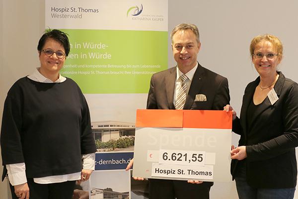 VG Ransbach-Baumbach unterstützt Hospiz St. Thomas