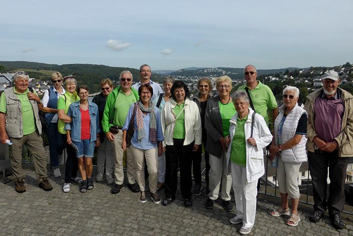 Westerwaldverein Bad Marienberg war in Siegen