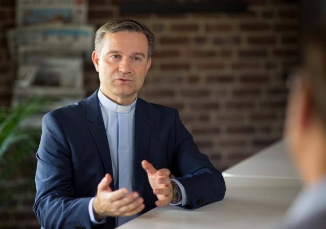 """""""Die Zukunft liegt ein Stück weit auch in unserer Hand"""", sagt der Kölner Generalvikar Dr. Markus Hofmann. (Foto: EBK)"""