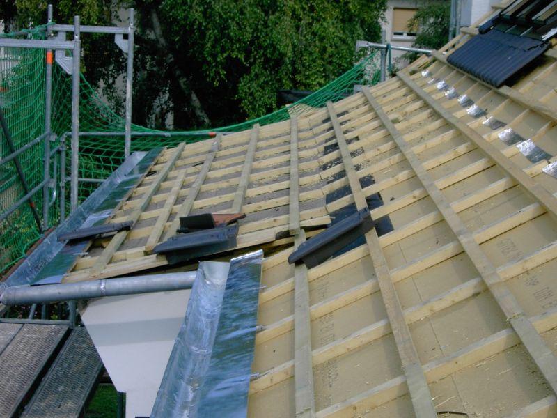 Unterdach: winddicht und durchlässig