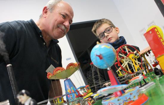 Am 17. Februar gibt es im Technikmuseum Freudenberg Modelldampf-Spaß nicht nur für Kinder. (Foto: Technikmuseum Freudenberg)