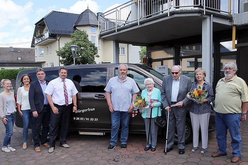Bürgerbusteam in der VG-Asbach feierte doppeltes Jubiläum