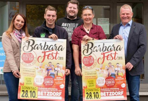 Ohne Baustelle und ohne Umleitung zum Spielspaß beim Barbarafest
