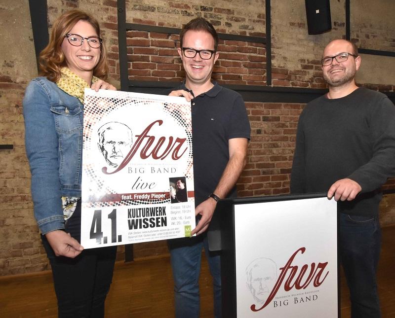 Friedrich-Wilhelm-Raiffeisen-Bigband swingt im neuen Jahr wieder im Kulturwerk
