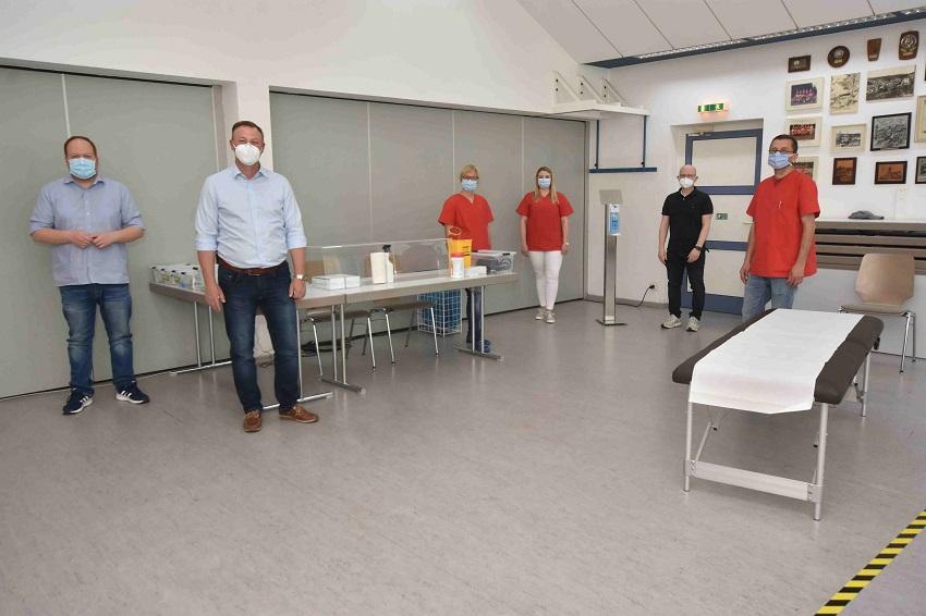 Infektambulanz nimmt Betrieb im Bürgerhaus Freusburg auf