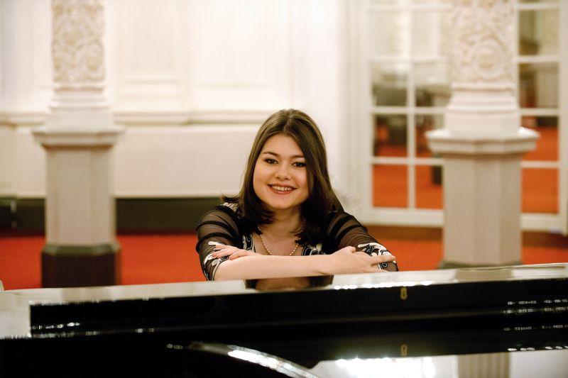 Klavierrezital mit junger Ausnahmepianistin