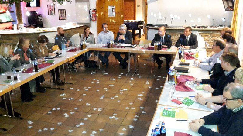 CDU-Kreistagsfraktion: Jugendliche zu Gespräch und  Mitarbeit ermuntert