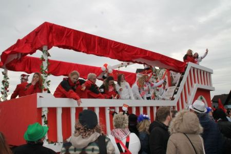 Malberger Karnevalsumzug mit Teilnehmerrekord