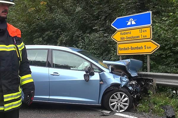 Verkehrsunfall mit zwei Schwerverletzten