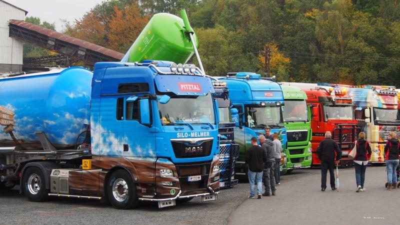 Ausnahmezustand im Stöffel: 300 Trucks