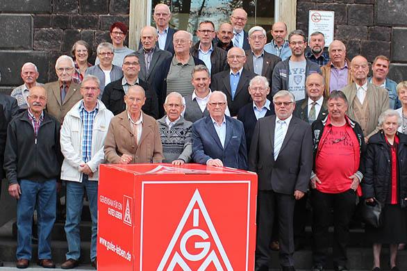 IG Metall Neuwied ehrt langjährige Mitglieder