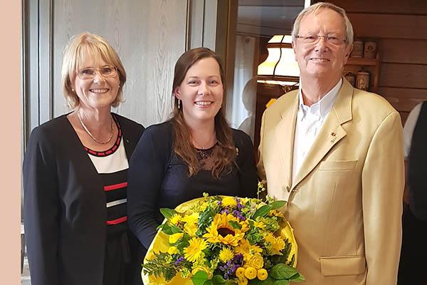 Lions Club Rhein-Wied erstmals mit einer Präsidentin