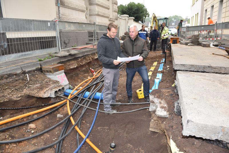 """""""Fundus"""" der Museumstraße: Leitungen, die in keinen Plänen sind"""