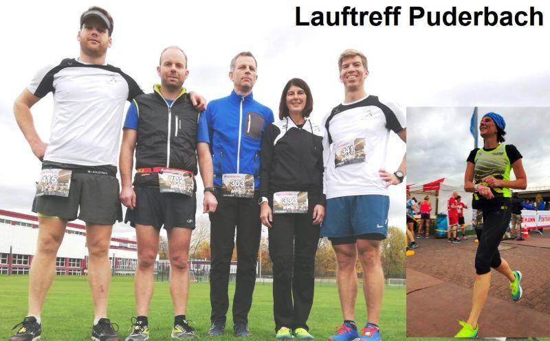 Heike Blum (LT Puderbach) war erfolgreich bei der Winterlaufserie