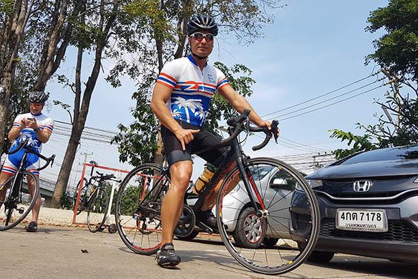 Auf dem Rennrad durch Thailand