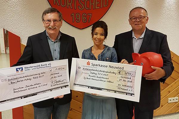Musikverein Harmonie: Spendenübergabe an Fly & Help