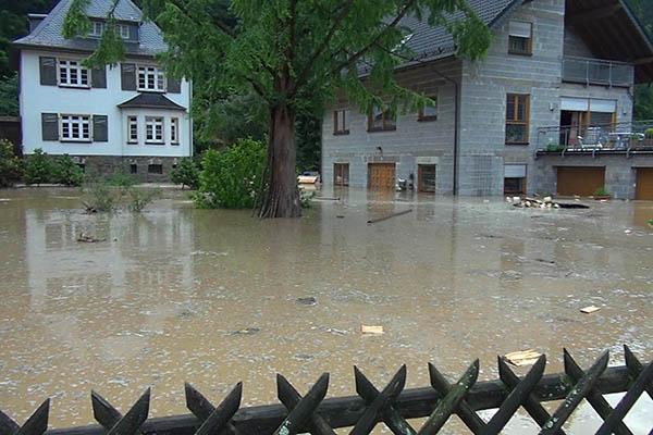 Wieder Land unter in Isenburg - Hoher Sachschaden
