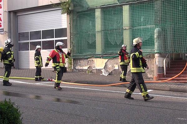 Brand im Hotel Hirsch in Rengsdorf war Brandstiftung