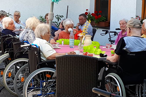 Cocktailparty im Haus am Linzer Berg