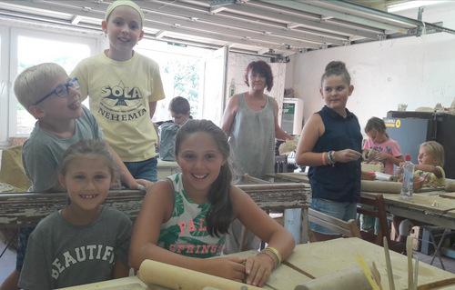 Ferienspaß-Töpfern: Abholung der Keramiken ab 31. August