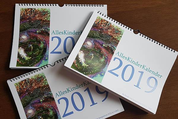 Alles-Kinder-Kalender 2019 der integrativen Kita in Unkel