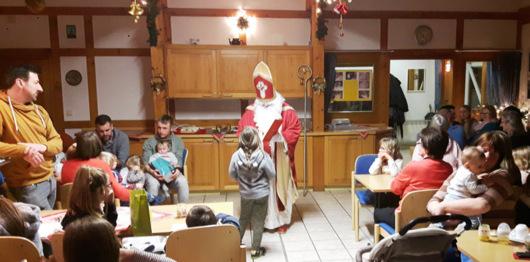 Nikolausfeier im Dorfgemeinschaftshaus Niedersteinebach