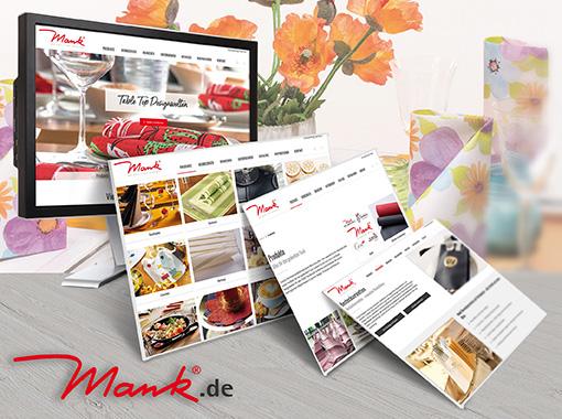 Webseite mank.de im neuen Kleid