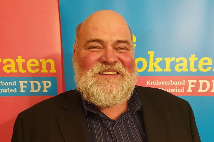 Ulrich Schreiber (FDP) will Stadtbürgermeister in Dierdorf werden