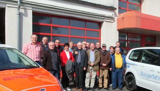 Ehrenamtsinitiative: Erste-Hilfe-Auffrischung für Bürgerbus-Gruppe