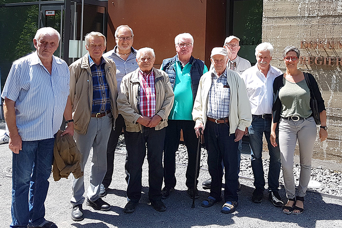 Alterskameraden der Feuerwehr Puderbach auf Tour