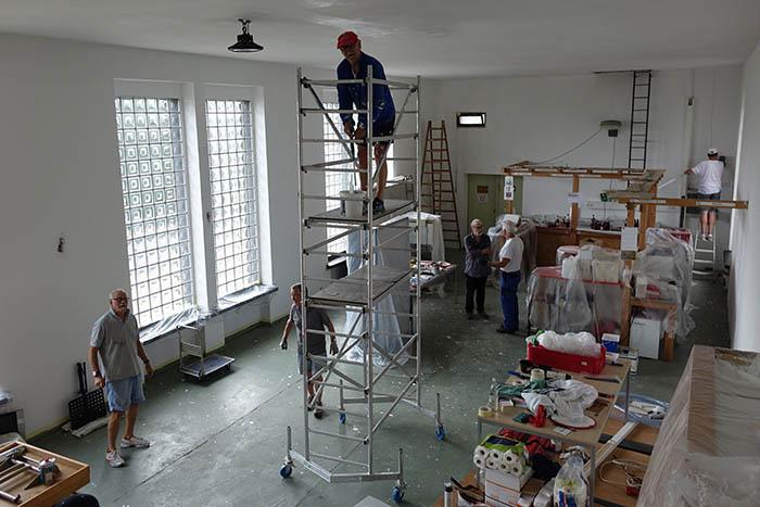 Der Linzer Männergesangverein renoviert das Sängerheim