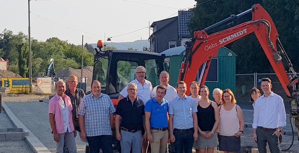 Mudersbacher CDU nahm Infrastruktur-Projekte unter die Lupe