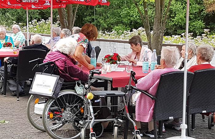 Sommerfest im Haus am Linzer Berg
