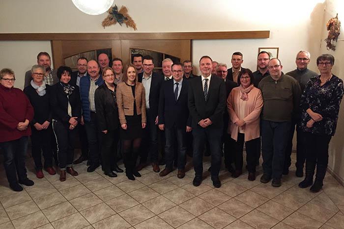 Die Mannschaft der CDU für VG-Ratswahl 2019 steht