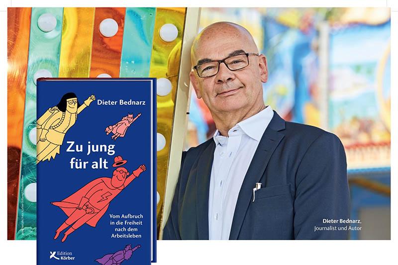 """""""Zu jung für alt"""": Lesungen von Dieter Bednarz"""
