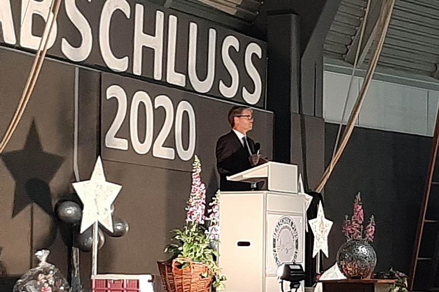 Feierliche Übergabe der Abschlusszeugnisse in Hachenburg