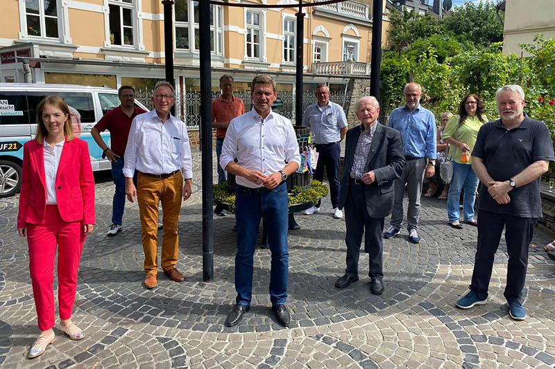 CDU-Spitze besucht Unkel